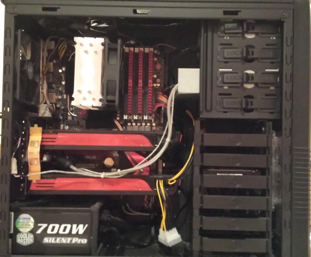 Desktop PC w/ Video Card Upgrade in Cross-Fire (High-End)